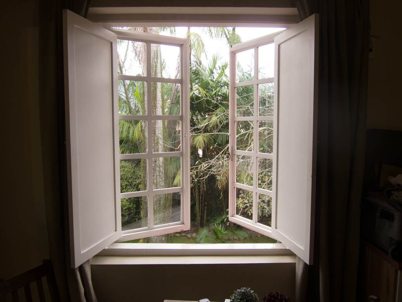 Window of our pousada