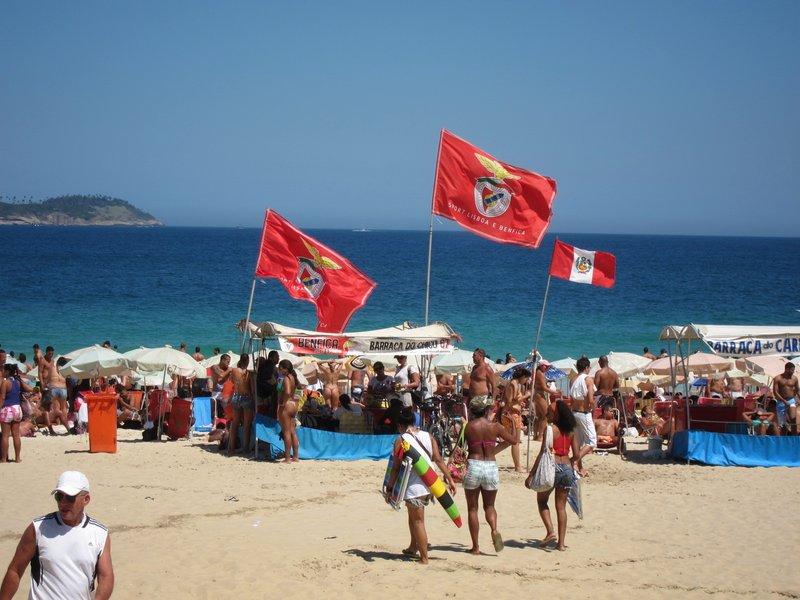 Ipanema Beach on Sunday