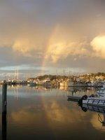 Nelson Bay's sunset