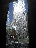San Francisco Building Behind Waterfall