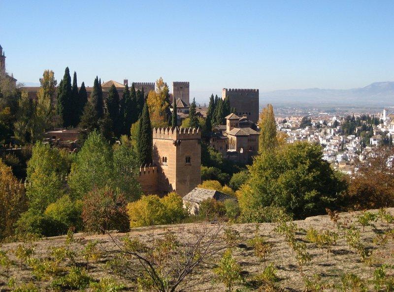 Granada La Alhambra view