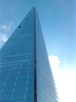 Arrival at London Bridge, walking out to see Europe's tallest building - The Shard