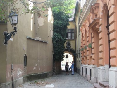Alley in old Buda