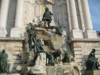 Buda Castle Hunting Fountain