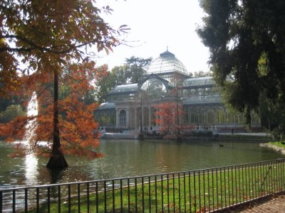 Crystal Palace in Parque de El Retiro