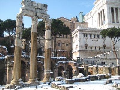 Columns at the Foro Di Caesar