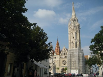 Matthias Church in old Buda