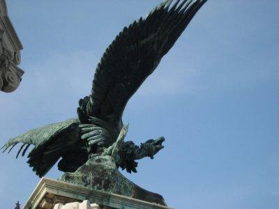 Mythical bird Turul
