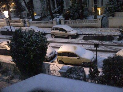 Outside my flat