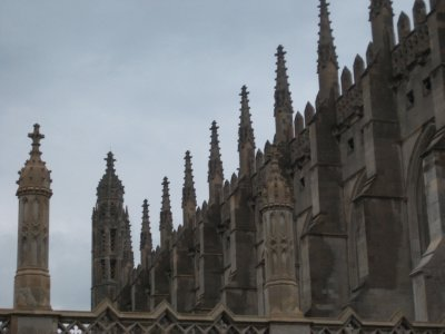 Rooftops Kings College Cambridge, University of Cambridge