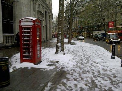 Snowy Aldwych