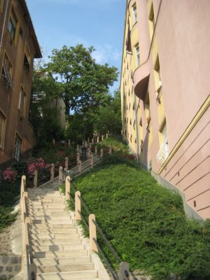 Stairs Up to the Old Town