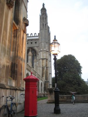 Tower at Kings College Cambridge, University of Cambridge
