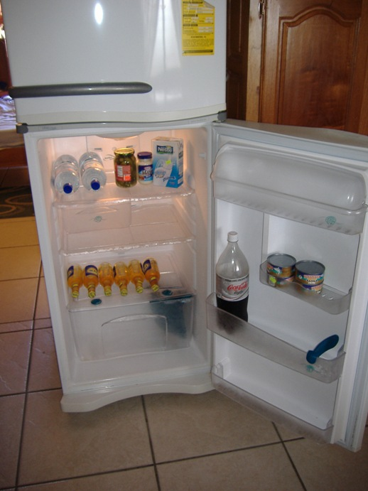 A well stocked fridge is a wonderful thing