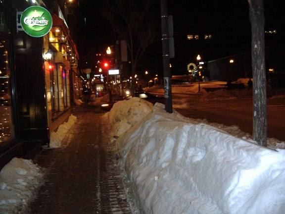 Snow Bank, Quebec City