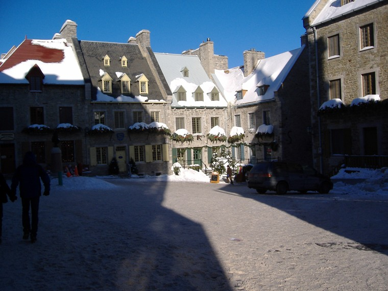 Place Royale, Quebec City