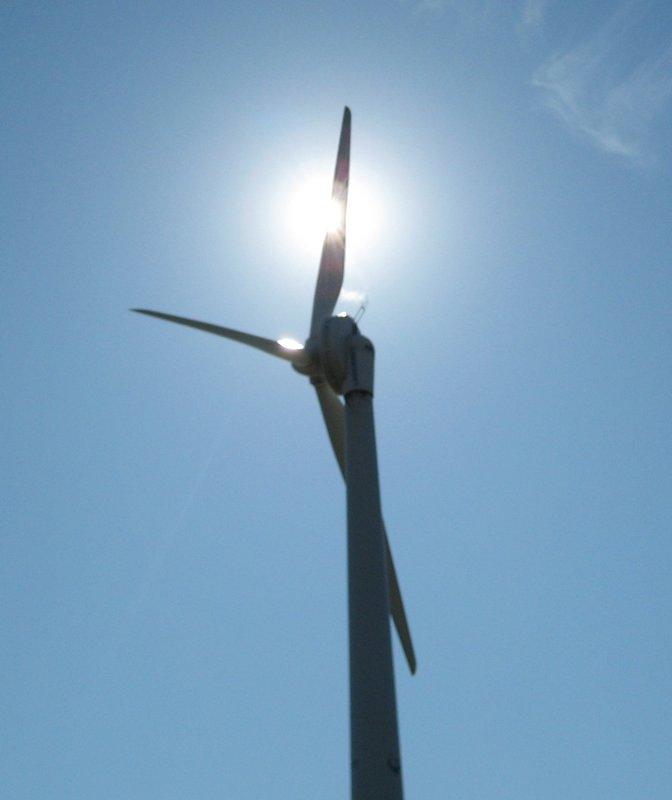 CNE Windmill and Sun