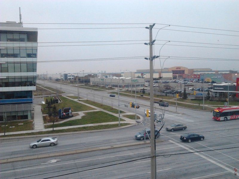 Fairfield Inn & Suites Toronto Mississauga View from fifth floor