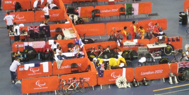 2012 09 01 The Pits at the Velodrome
