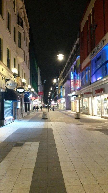 Pedestrian mall Regeringsgatan