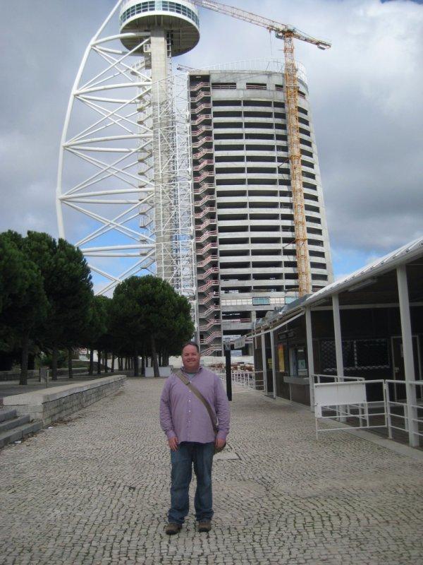 Greg at Vasco Da Gama Tower