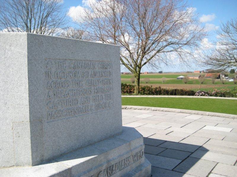 Canadian Memorial, Passendale