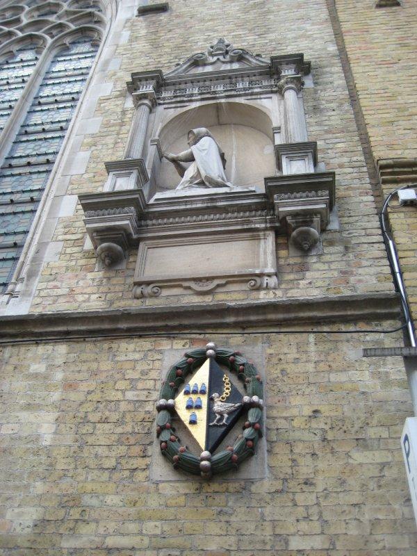 Crest on Old Buildings on Rijelsestraat