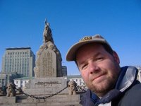 Me in Ulaan Baatar's main square
