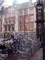 Bike racks, Amsterdam, Netherlands