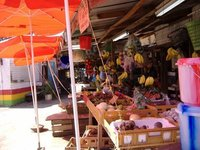 Fruit for sale in the main market, Scarborough, Tobago