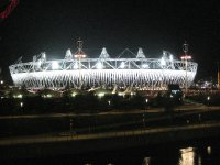 2012 09 01 Olympic Stadium at Night