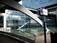 Entrance to Lille Europe Train Station