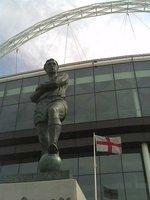 Bobby Moore Statue at Wembley