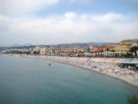 Nice, France beach, May 2009