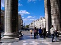 Exiting the Pantheon , Paris, France