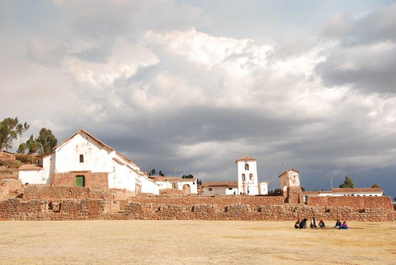 The ancient churchyard