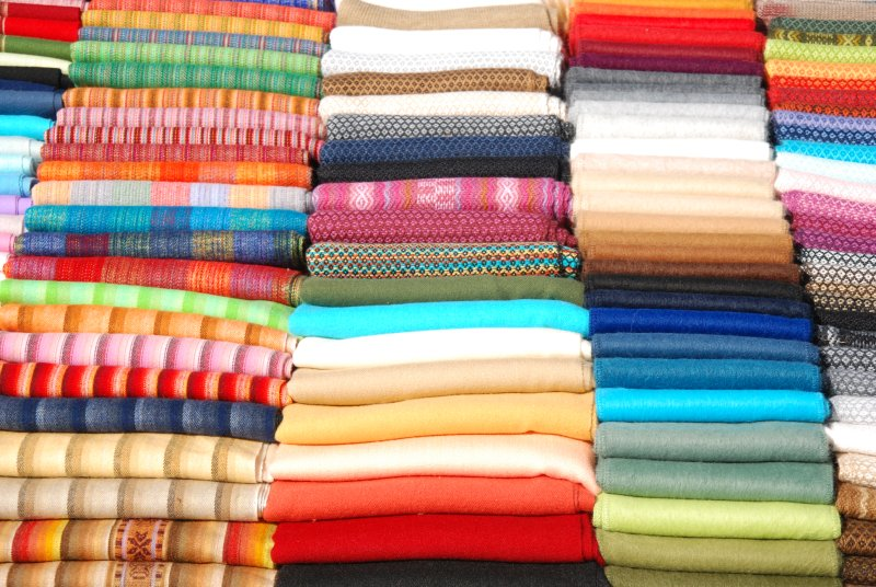 The colours of wool