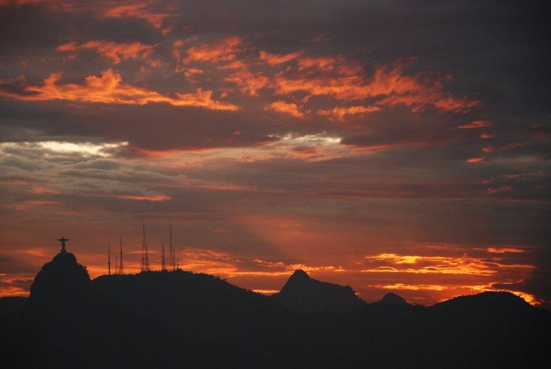 Christ at sunset 2