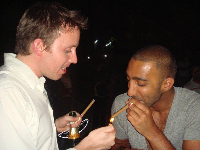 chris moony cigar