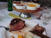 Steak leftover