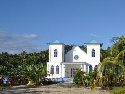 church on Manono island, Samoa