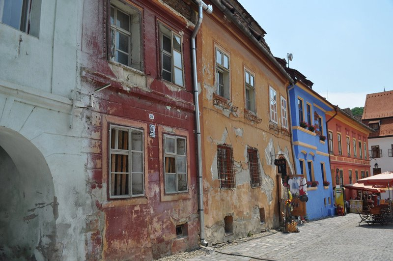 Romania, Sighisoara old town