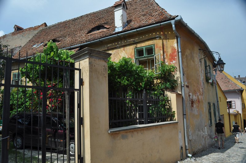 sighisoara, romania old house