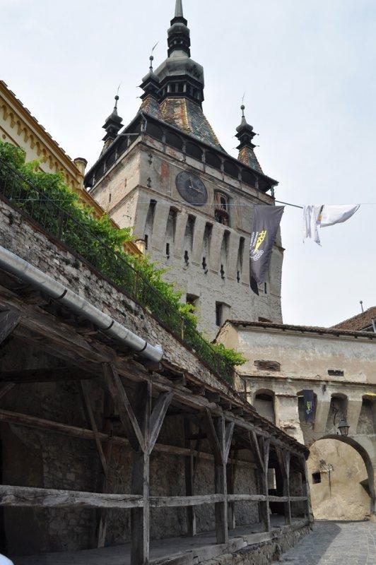 old clock tower sighisoara, romania
