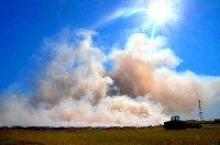 Burning Sugar Cane in Louisiana
