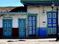 colorful Salento houses