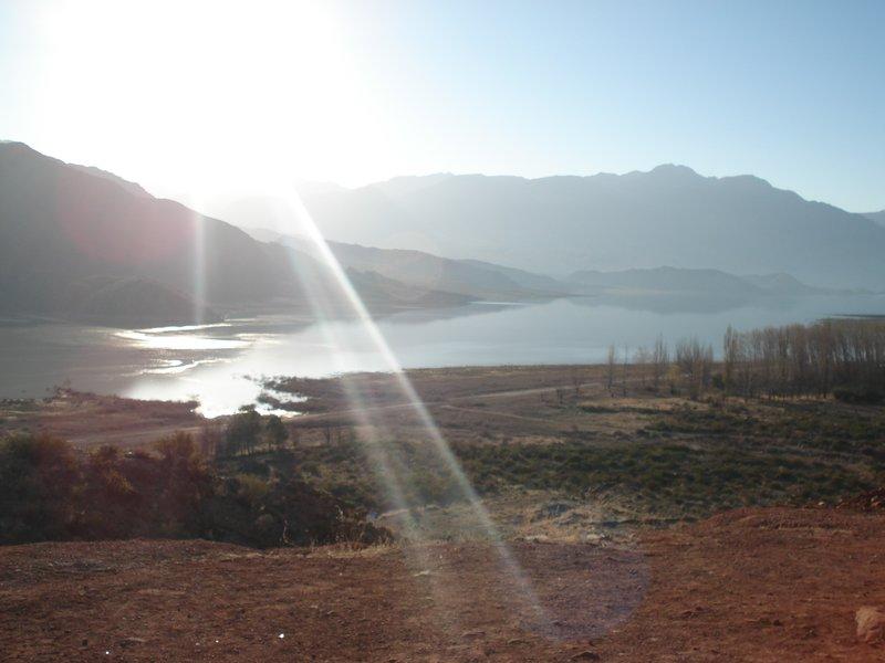 lake+mountains, mendoza