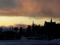 Sunset at Holmenkollen