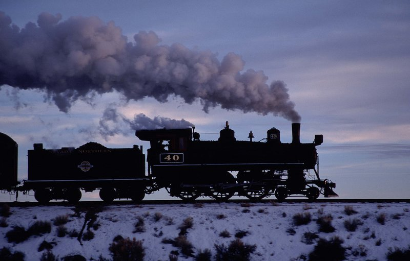 Steam engine, Northern Nevada