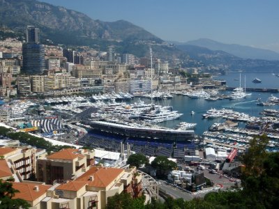 Monaco - harbour view #4